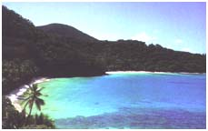 [Hawksnest Beaches in the National Park]